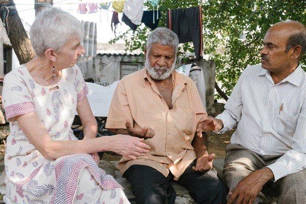 Krishna receiving treatment
