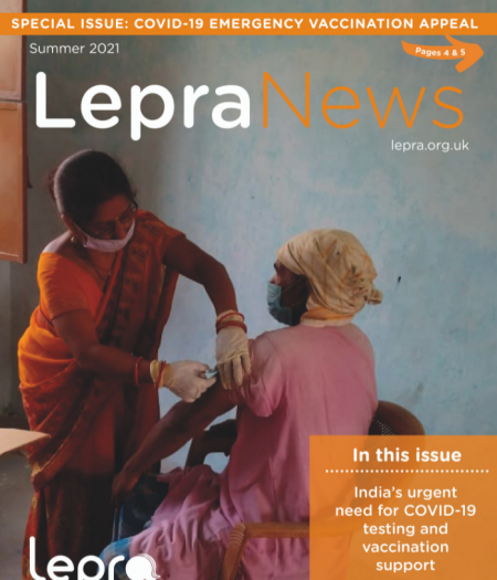 Lepra news front cover