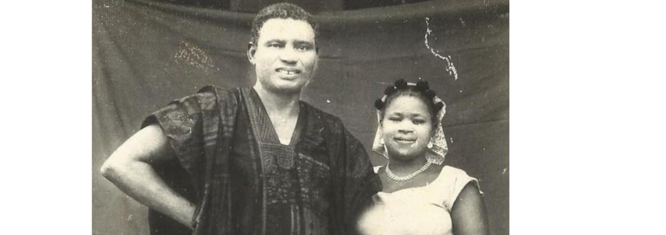 Ikoli Harcourt Whyte and his wife