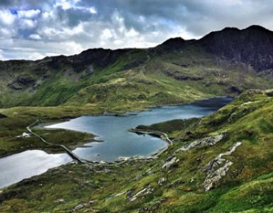 The lakes as Snowdon