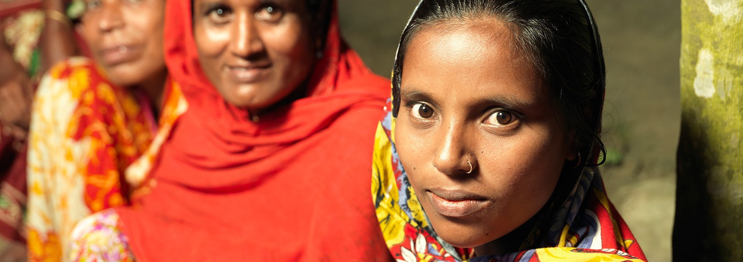 Photo of some women at our health centre