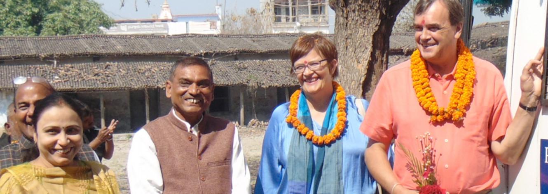 Sir Dominic Asquith in Bihar