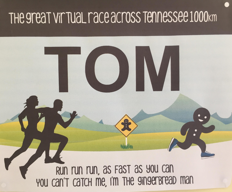 Tom's vest label