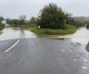 Flooded roads VMLM