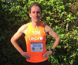 Tom before marathon