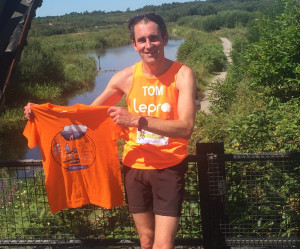 Tom after marathon