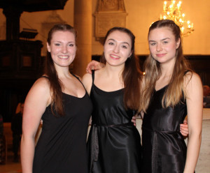 Girls at the evening