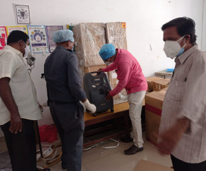 Oxygen Concentrator delivery Government General Hospital in Vijayawada.